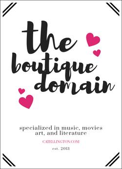 The Boutique Domain wiki, The Boutique Domain history, The Boutique Domain news