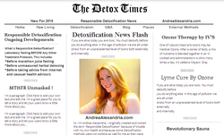 The Detox Times wiki, The Detox Times history, The Detox Times news