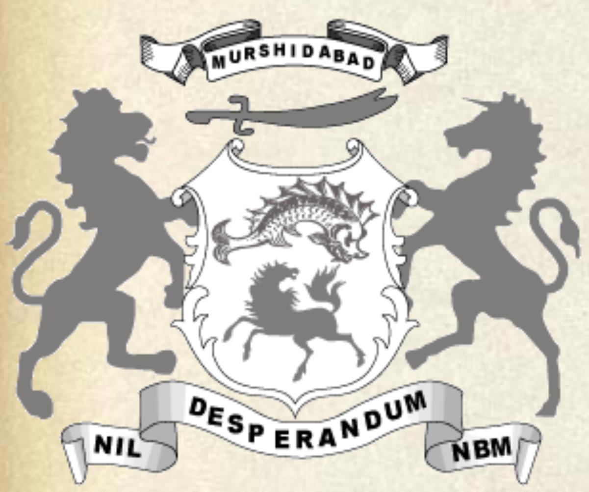 Coat of Arms of the Nawab Bahadur of Murshidabad