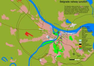 Belgrade railway junction