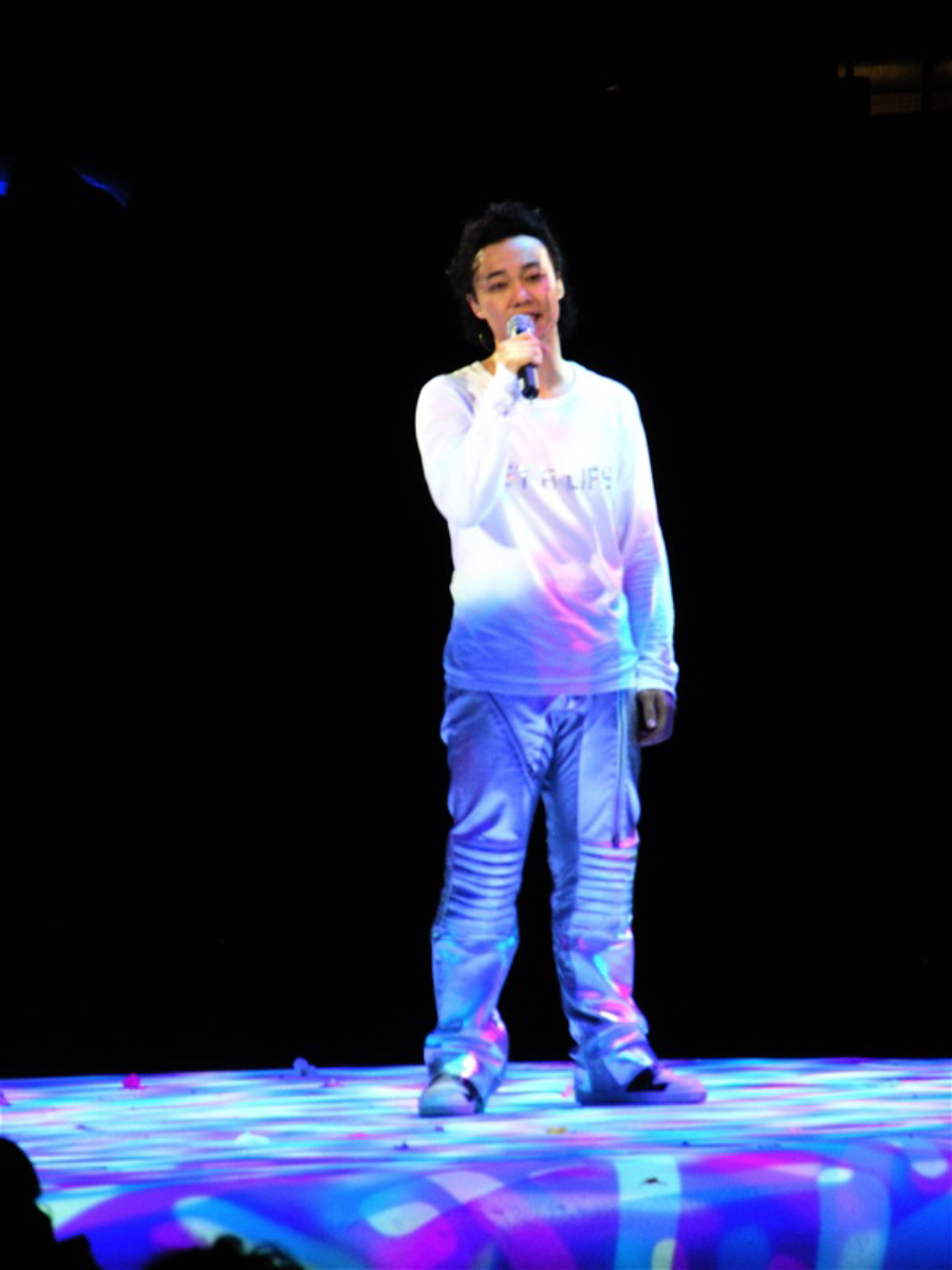 Chan at his <i>Get a Life</i> concert in 2006