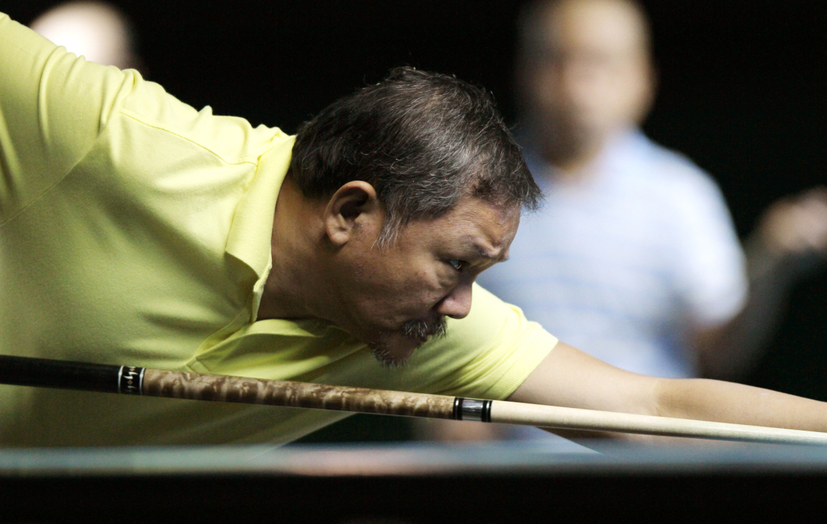 Efren Reyes in the World 9-Ball Pool Championship
