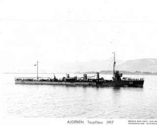 French destroyer Kabyle