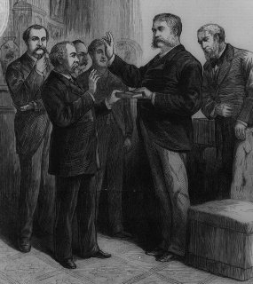 Inauguration of Chester A. Arthur