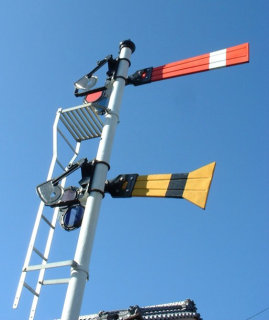 Japanese railway signals