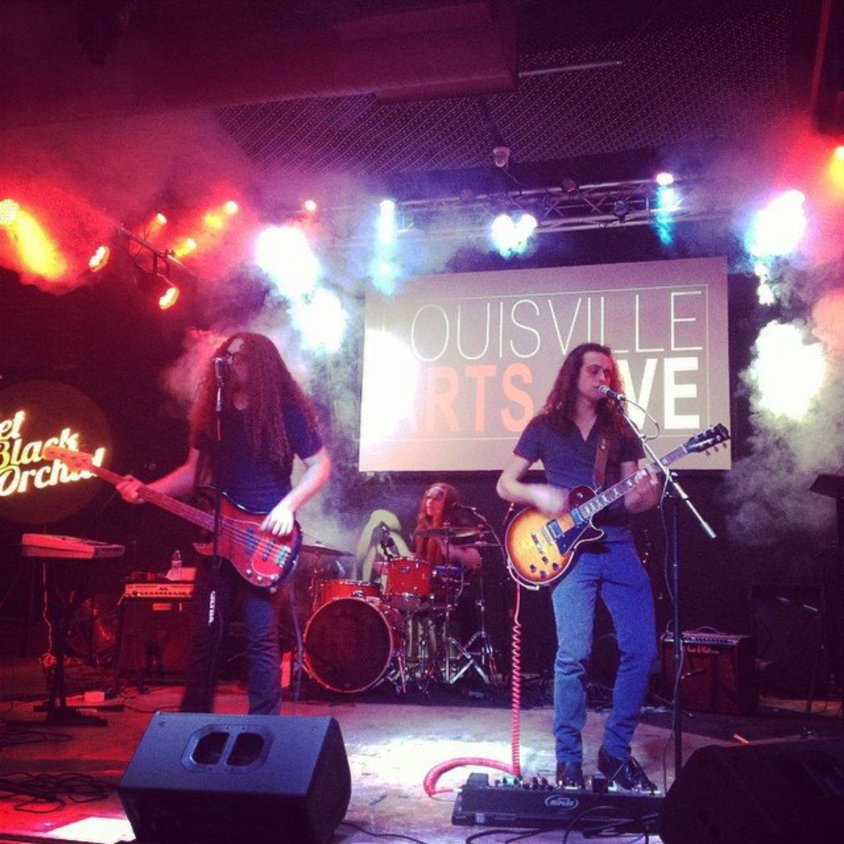 Jet Black Orchid live in late-2014