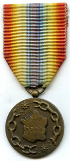 Medal of a liberated France