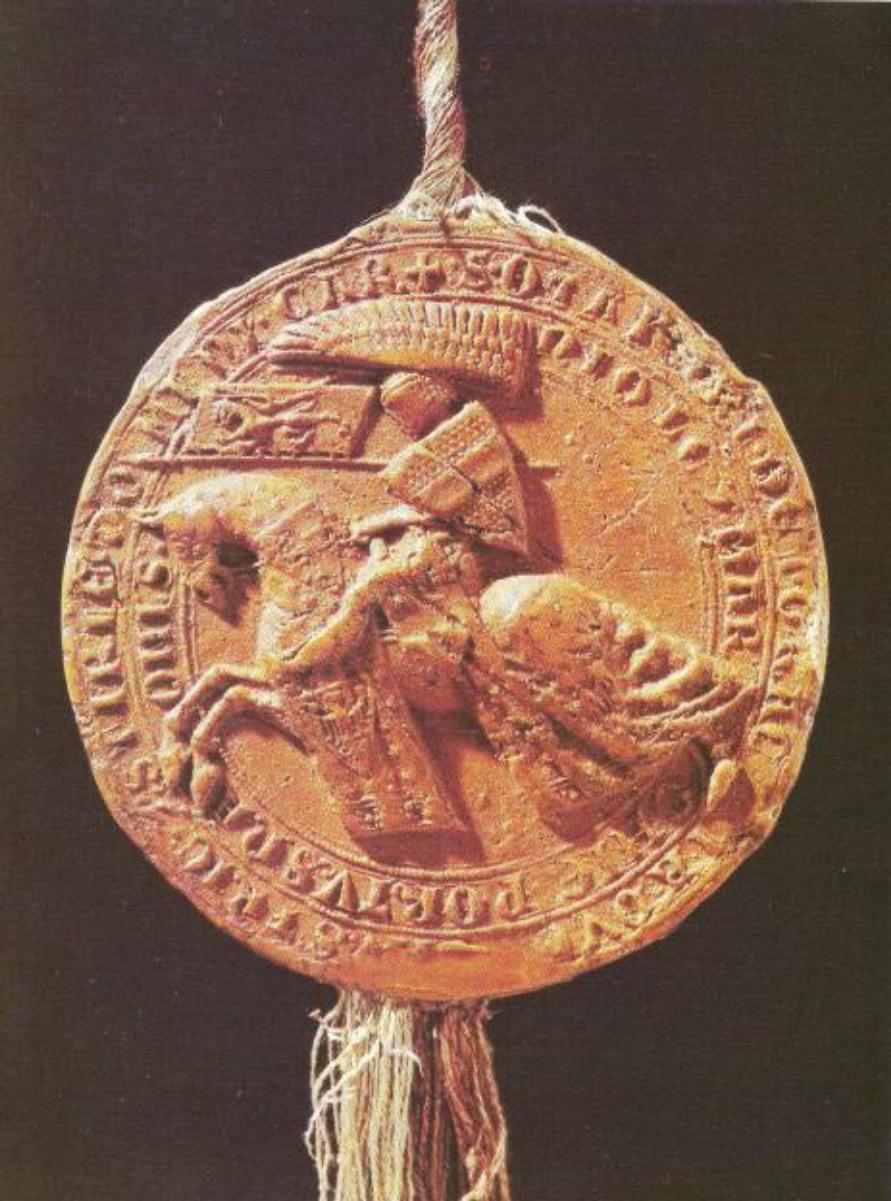 Ottokar's royal seal