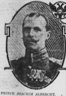 Prince Joachim Albert of Prussia