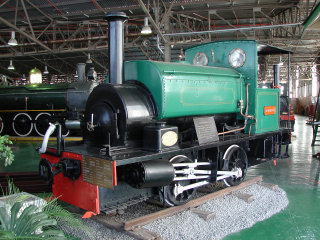 South African Dock Shunter 0-4-0ST