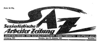 Sozialistische Arbeiter-Zeitung
