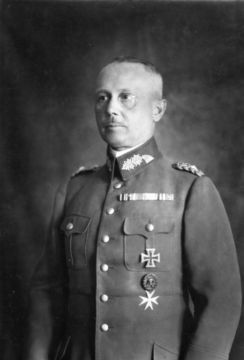 Werner von Fritsch, 1932