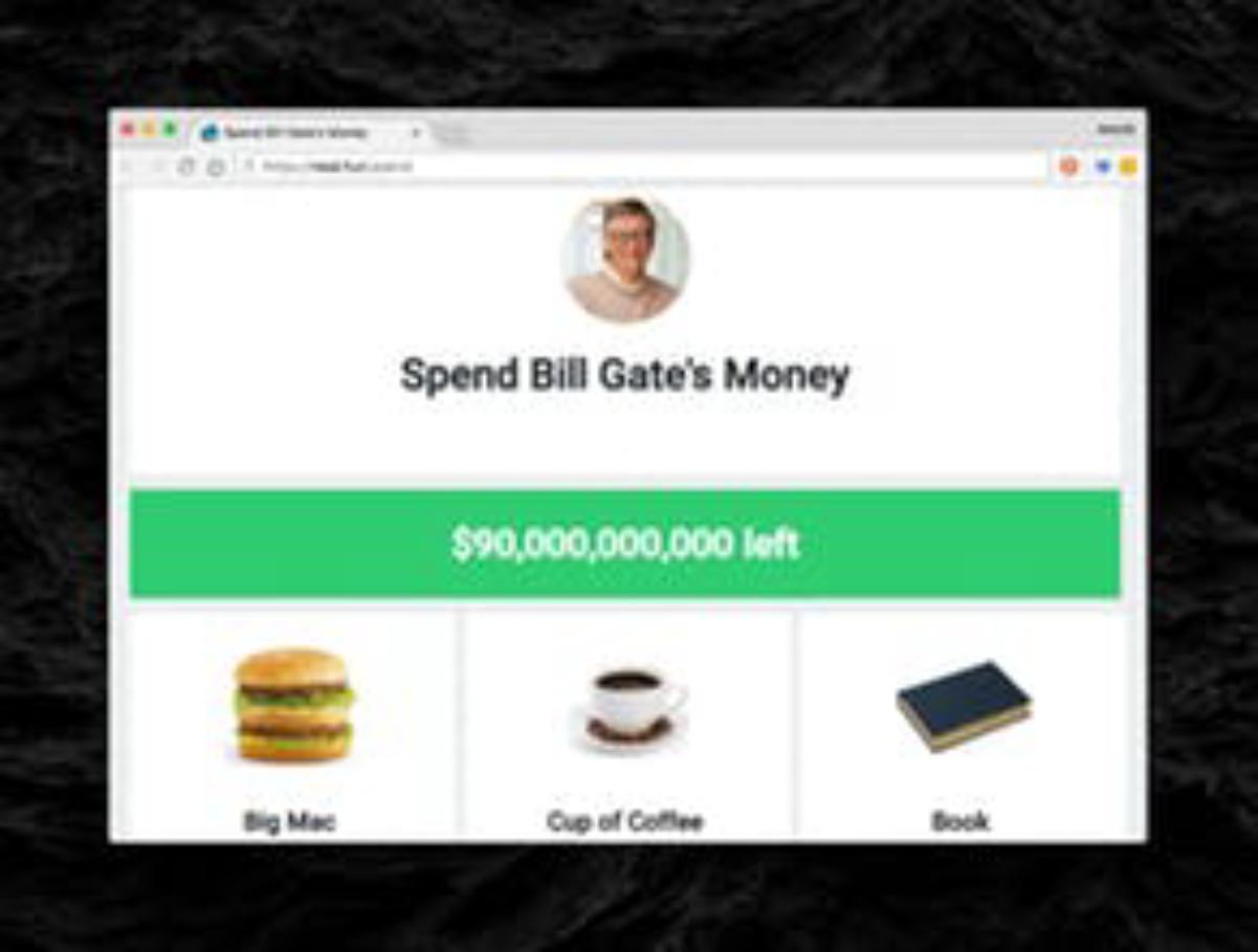 Spend Bill Gates' Money Wiki